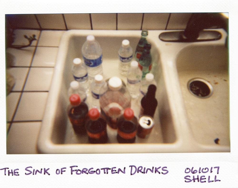 Sink of Forgotten Drinks