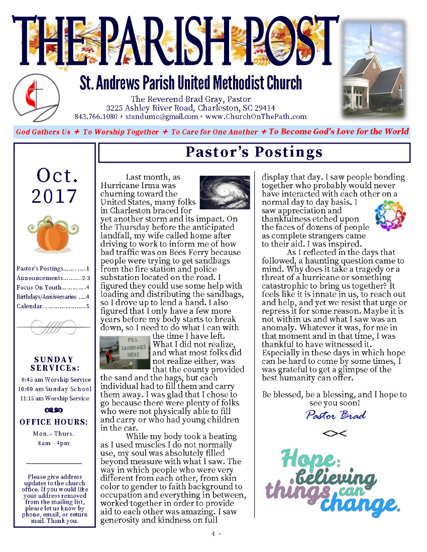 The Parish Post October 2017