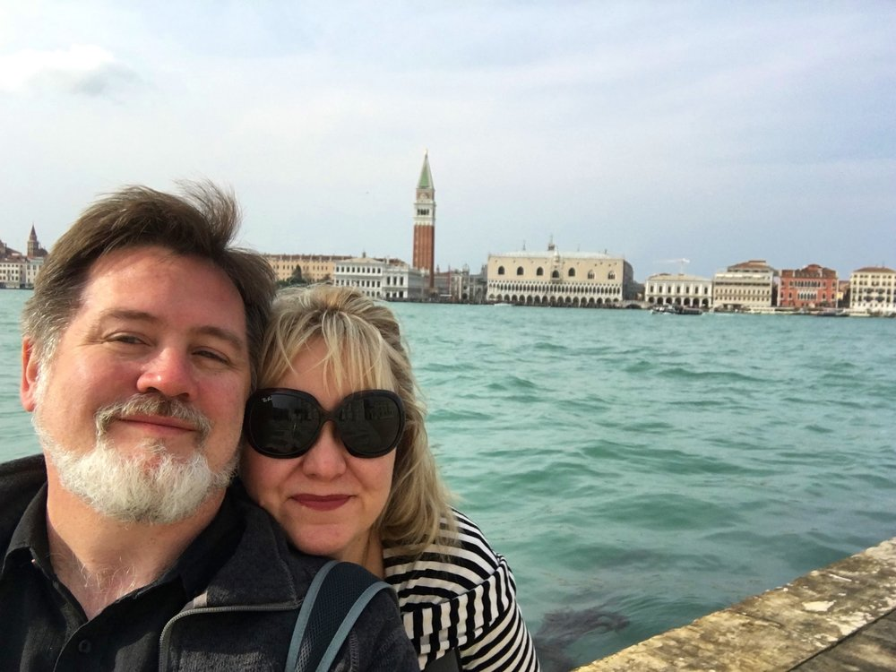 Selfie on the Giudecca