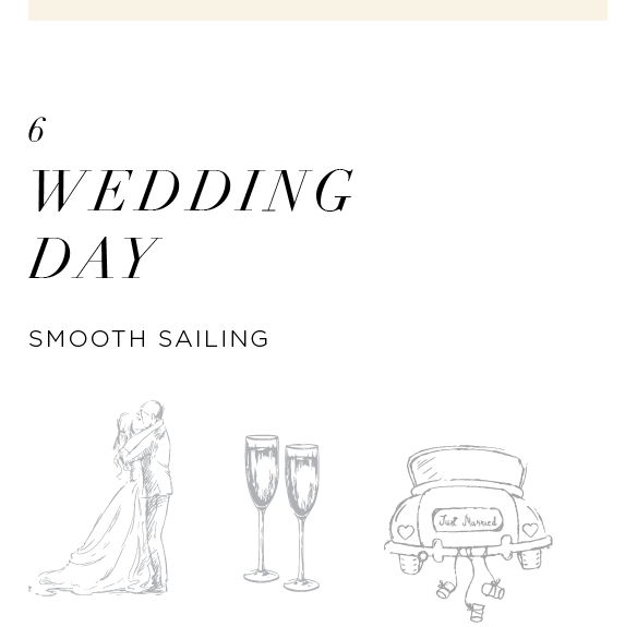 It's finally showtime! After months of planning and correspondence, your big day is finally here and we couldn't be happier to be a part of your story. Our teams will arrive on-site, armed with your wedding details, itinerary, and shooting timeline ready to take on the day!