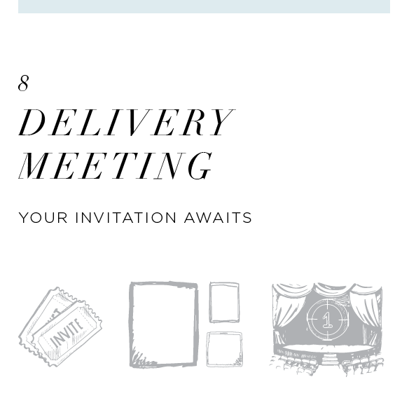 Relive your wedding day with the people you love most in our exclusive personalized gallery event! Just when you think all the wedding events are over, we have one more for you! We will send out an official first screening invitation to you and your family and friends to complete the full Hera experience.
