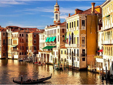 "Private Art Tour of Venice (1 week, for 2 people) Enjoy a tour for two people on ""La Serenissima: Passato e Presente 2018,"" a week-long, on-site art history seminar in Venice, Italy, led by Giulia Bernardini, instructor of art history and a native Italian. Stay at a charming hotel in the heart of Venice, plunge into the art and history of the city's past and present, indulge in Venice's little-known yet delicious multi-cultural cuisine, all while learning about this incredible city and its culture. Giulia and several carefully-selected locals will guide an intimate group through the winding streets, canals and museums. Enjoy this Wonderfeast seminar of art, culture, and food, as well as a wide array of delights you would never find on your own! www.wonderfeast.com Donated By: Giulia Bernardini Two people. Must be used in June 2018 Maximum of eight like-minded explorers in the group. Includes seven days of art history tuition, eight nights plus breakfast in double occupancy room in central Venice hotel, five meals, entrance to scheduled sites, one cooking class, local transportation. Does not include: airfare, remaining lunches and dinners, ground transportation to and from airport in Venice. Opening Bid: $6,000    Value: $8,000"