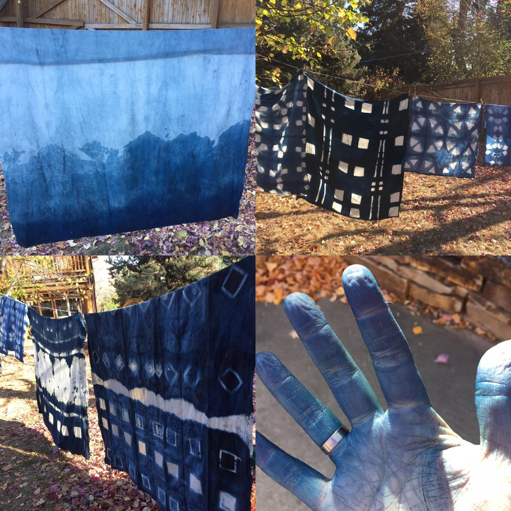Dye Your Own Fabrics: Shibori Workshop (for 3) - Join local maker Emily Himes of over the fence to learn how to dye fabrics. Make organic indigo vat from scratch, learn folding techniques and try out block resist dyeing (itajime). Good for a group of 3, all will take home hand dyed fabrics.Donor: Emily HimesTo be used on mutually agreed upon date in Summer or Fall 2017.Opening Bid: $225    Value: $300