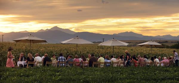 2 Tickets to UniqueTravelling Farm Dinner - Soak in a one-of-a-kind culinary experience at Outstanding in the Field. This traveling dinner series which has transformed countrysides around the world into luxurious outdoor farm dinners will be making its way to Boulder this summer! Join this sought-after event on the picturesque farm of The Fresh Herb Co. in Longmont. The dinner features the talents of Chet Anderson and Eric Skokan. Anderson has succeeded over many, many seasons and will share his knowledge and insights about farming. Chef Eric Skokan is also a farmer. He raises animals and grows vegetables at his Black Cat Farm close to Boulder. Eric's work in the kitchen has earned him a 2017 James Beard semi-finalist spot for Best Chef: Southwest. The dinner will take place on Sunday, July 23.Donor: Gutman FamilyOpening Bid: $400    Value: $550