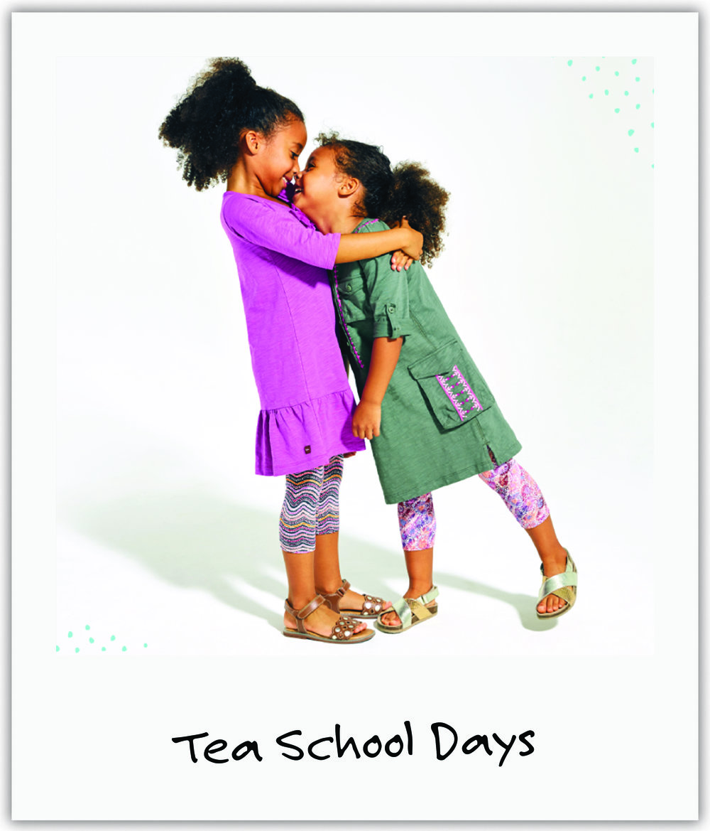 Old friend Clare teamed up with one of our favorite kids clothing companies, Tea Collection, to raise money and awareness.