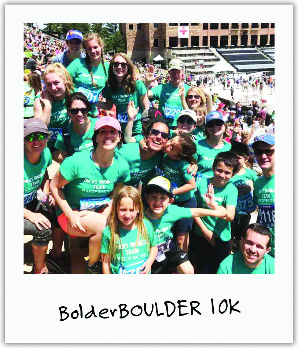 Over twenty Mila's Miracle teams stood out at one of the world's largest races, with 50K people, to help us raise money and awareness for Batten Disease.