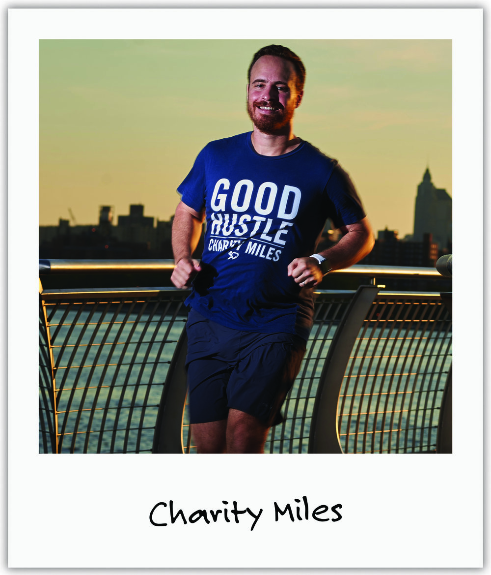 Charity Miles founder, Gene, was so moved by Mila's story that he flew out to Boulder to record a podcast interview with Mila's mom Julia which he blasted out to his hundreds of thousands of members.