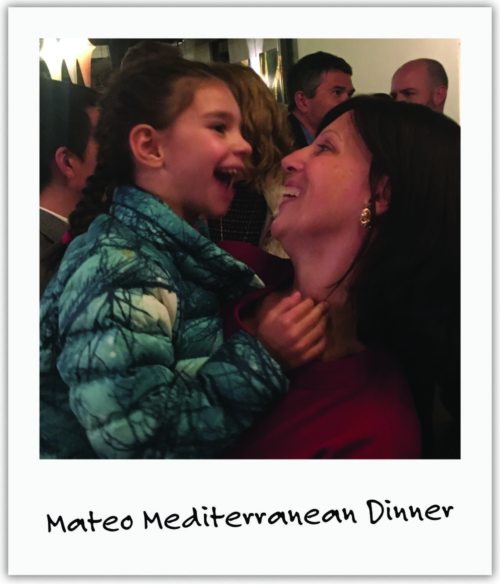 Dedicated friends Kate and Josh, together with the Laudisio family and Mateo restaurant,hosted an evening of fine food and wine for Mila's cause.