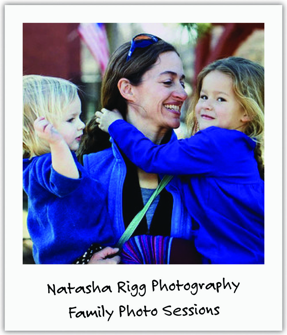 Local photographer and mom Natasha set up family photo sessions at numerous events and put all proceeds toward our trial.