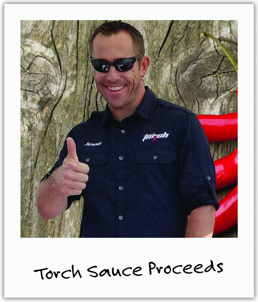 Minnesota's Torch sauce founder Jesse stumbled upon Mila's story and immediately rallied his customers to help us!