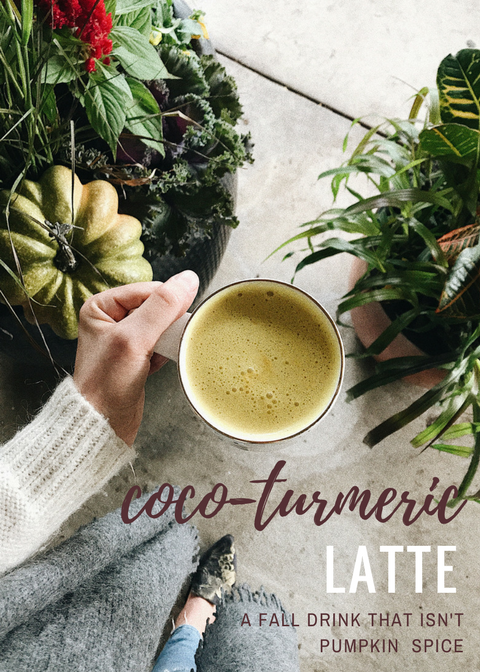 Julie Sharikov Coco-Turmeric Latte