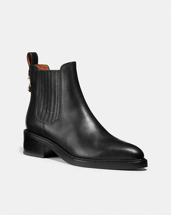 my boots in black
