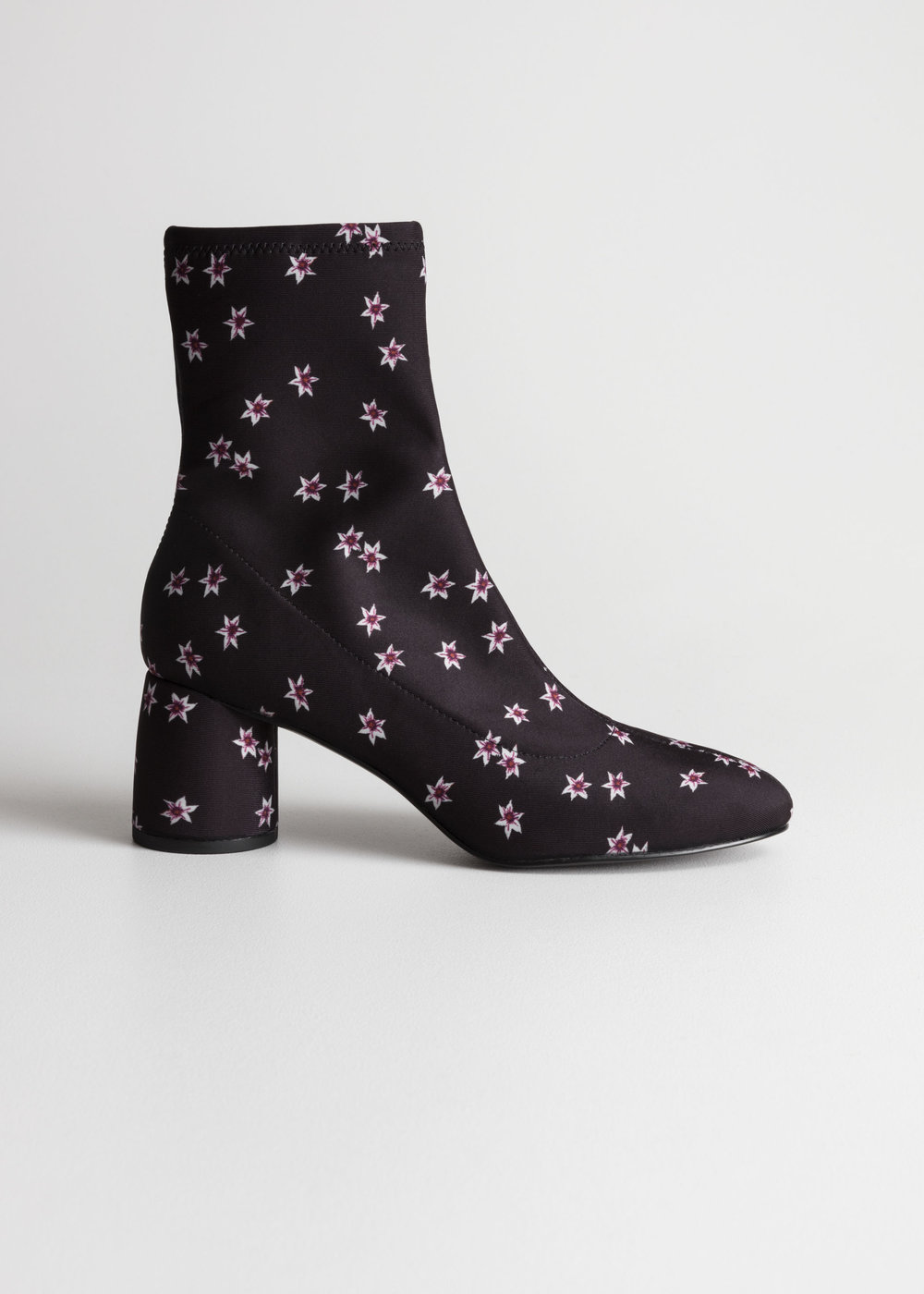 floral sock boot