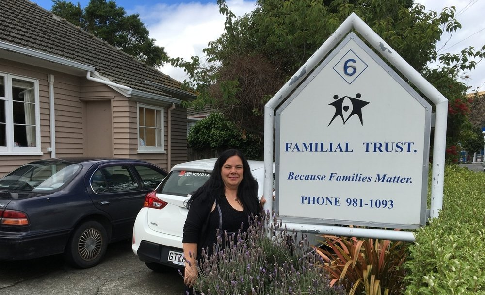 Karen Watson Founder of The Familial Trust Click here for more information