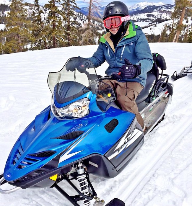 Snowmobiling Lake Tahoe