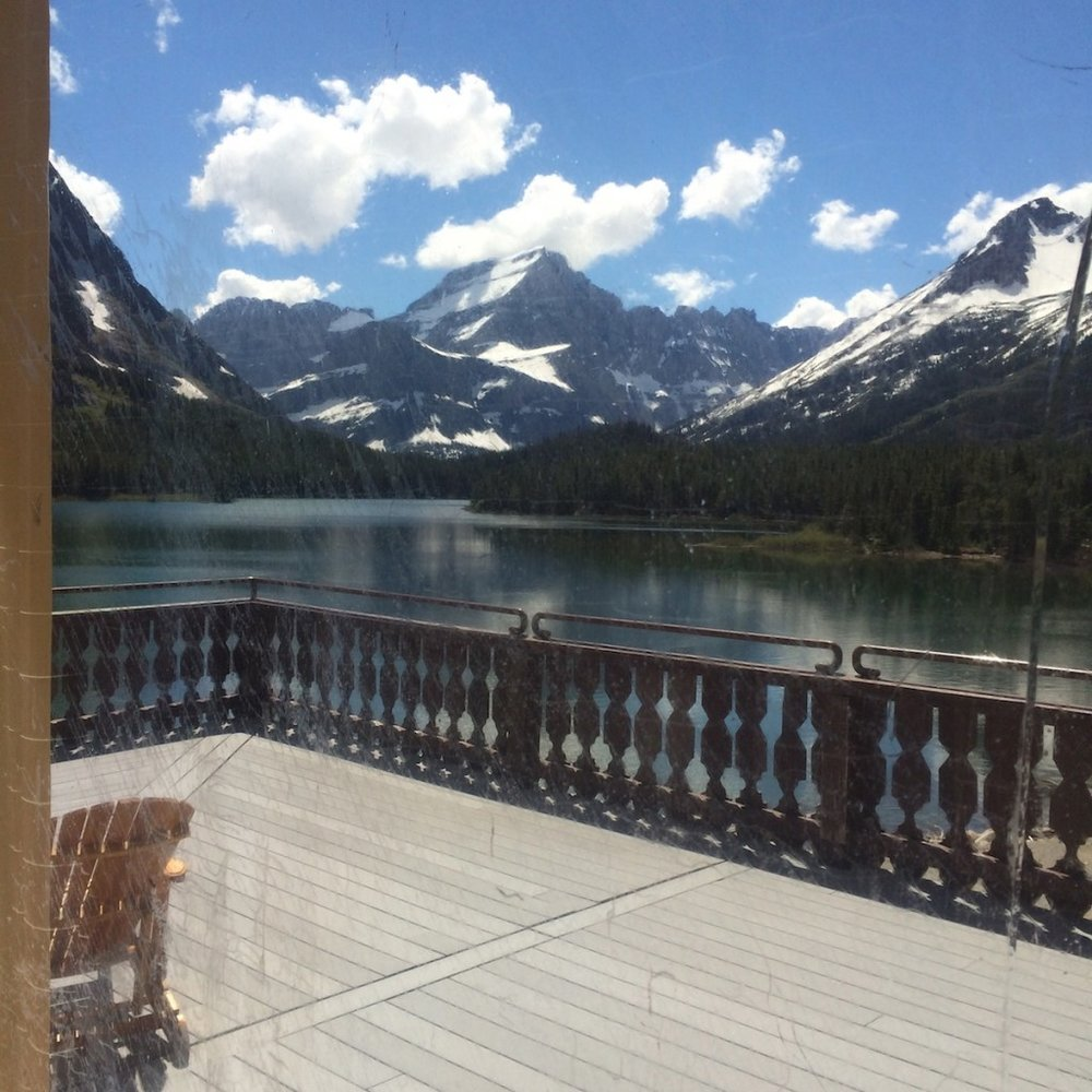Many Glacier Lodge at Glacier National Park