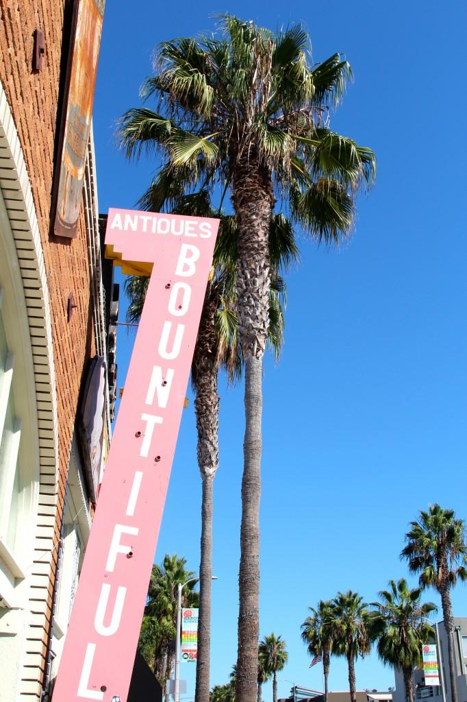 Bountiful shop in Venice, California