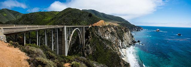 Bixby Bridge photo by @howardignatius on Flickr