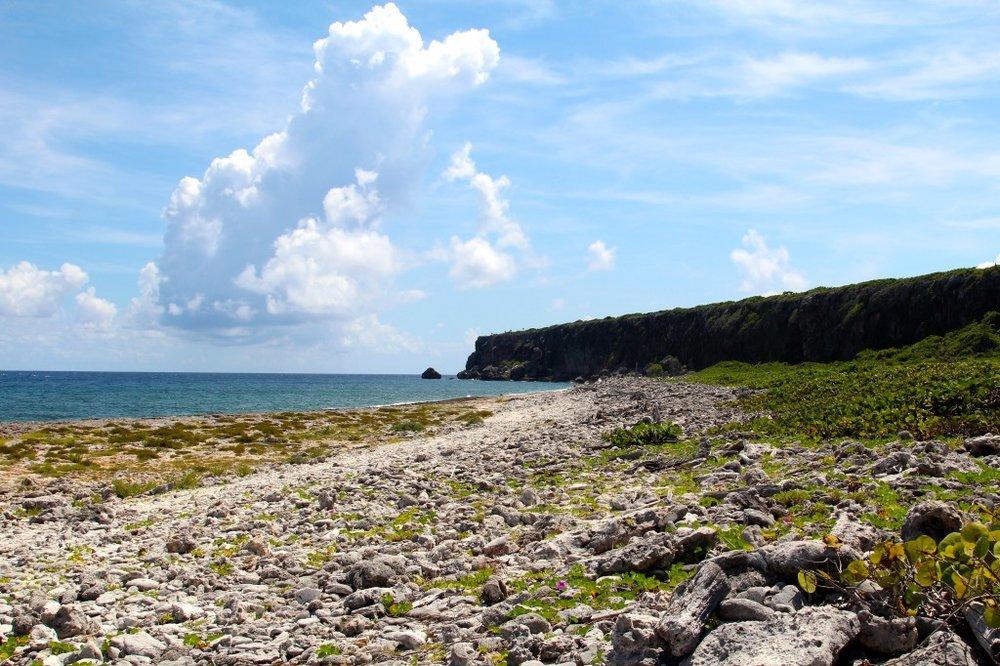 Walking the shoreline of Cayman Brac all to myself