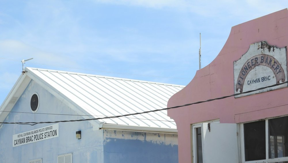 Cayman Brac bakery (insert joke about bakery being beside the police station)