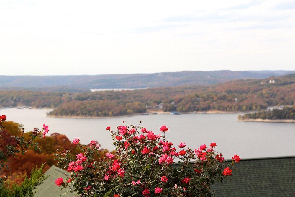 Table Rock Lake Overlook in Branson, Missouri