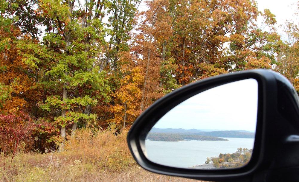 Overlook of Table Rock Lake in Branson, Missouri