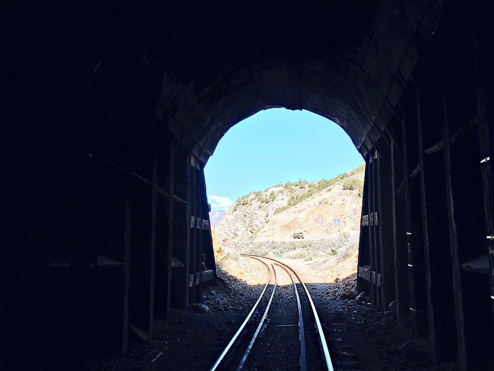 Old Train Tunnel near Ely, Nevada