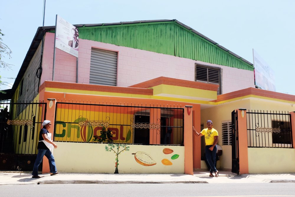 Chocolate factory in Puerto Plata, Dominican Republic