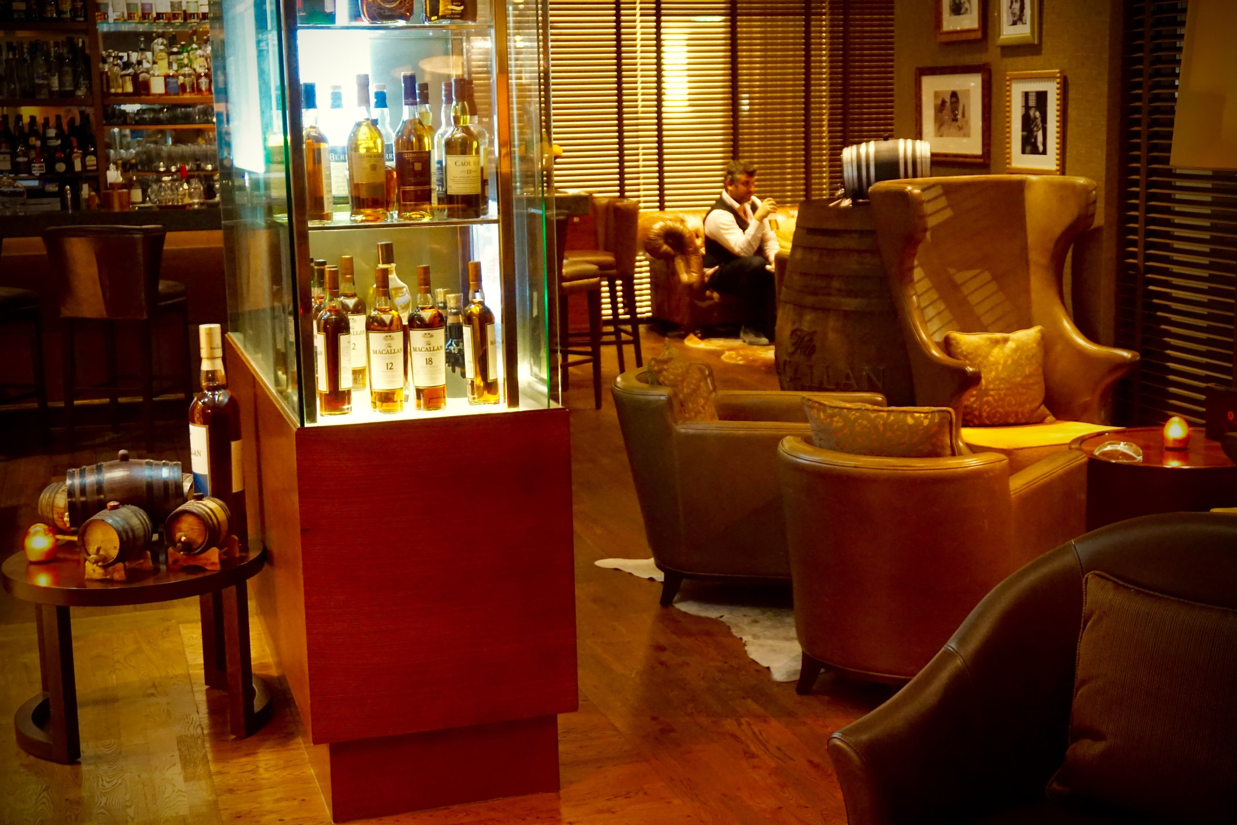 Whiskey and Cocktails in Dubai at The Cigar Bar — Whiskey