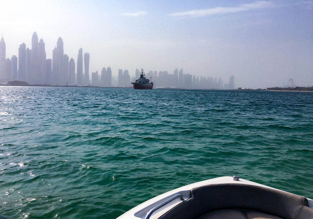 Dubai boating
