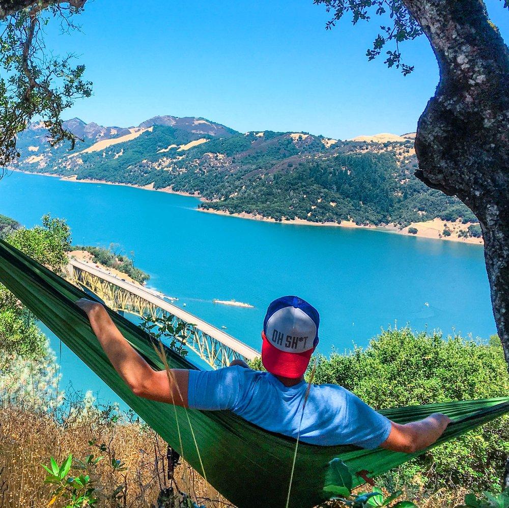 hammock at the lake