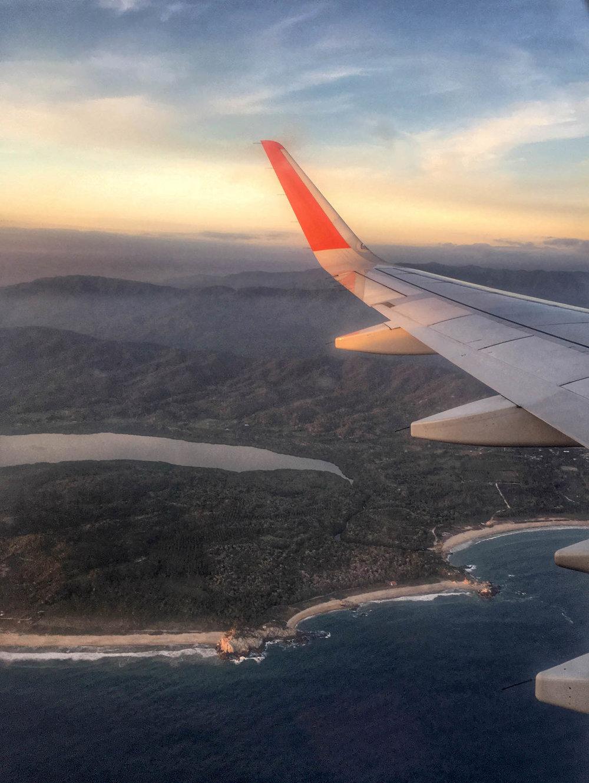 Oaxaca coastline