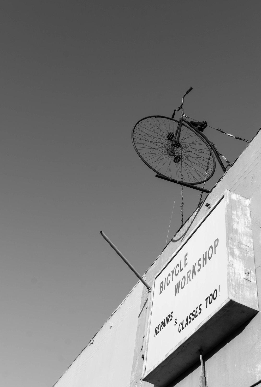 Bicycle shop in Santa Monica