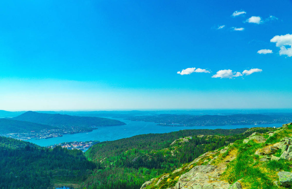 Bergen, Norway trail