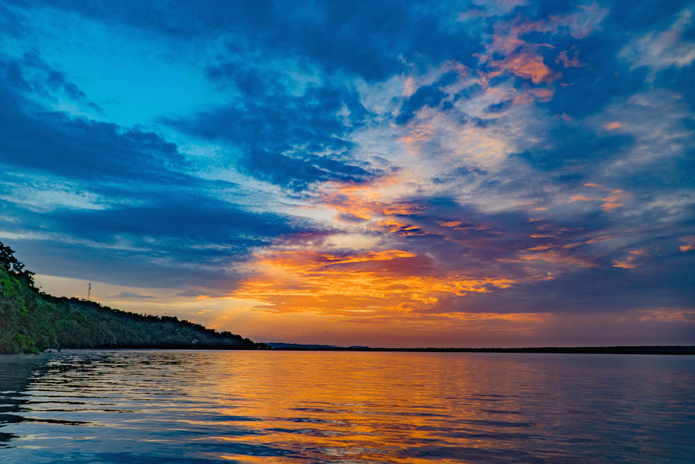 Sunrise from Bolontiku Hotel