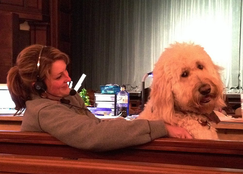 Tech Rehearsal of  Annie  at Charleston Stage Company in Charleston, SC