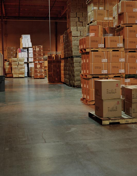 On-hold warehouse
