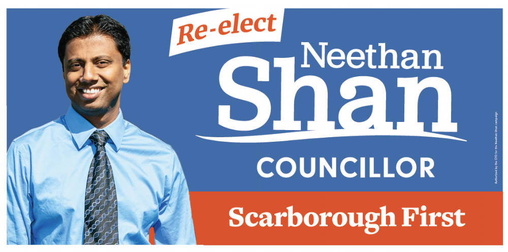 Neethan Shan for City Councillor