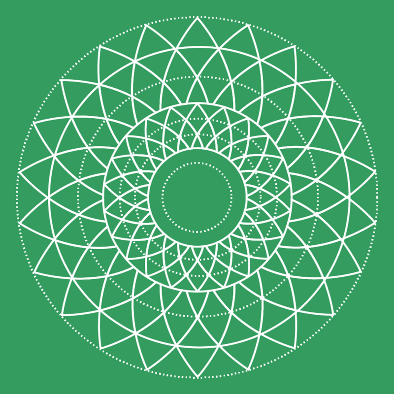 Kelly green sacred geometry tile 2.png