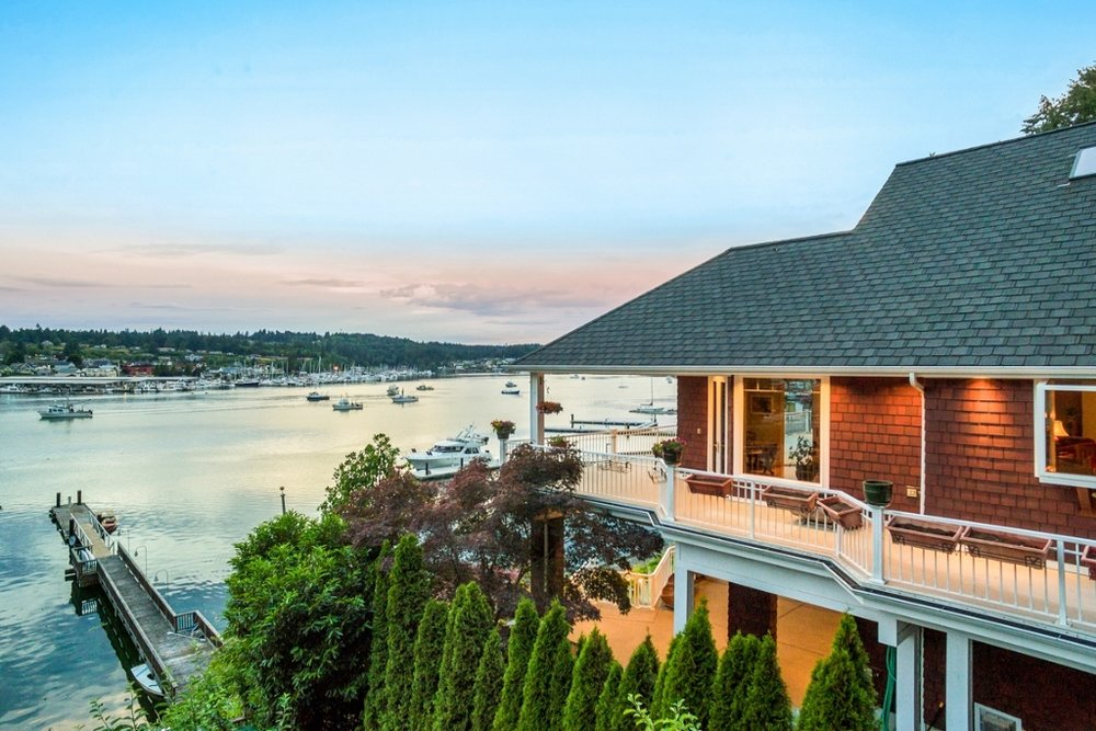 GigHarborWaterfrontLiving.com - 8104 Goodman Drive Gig Harbor, WA Proudly Listed at $2,975,000