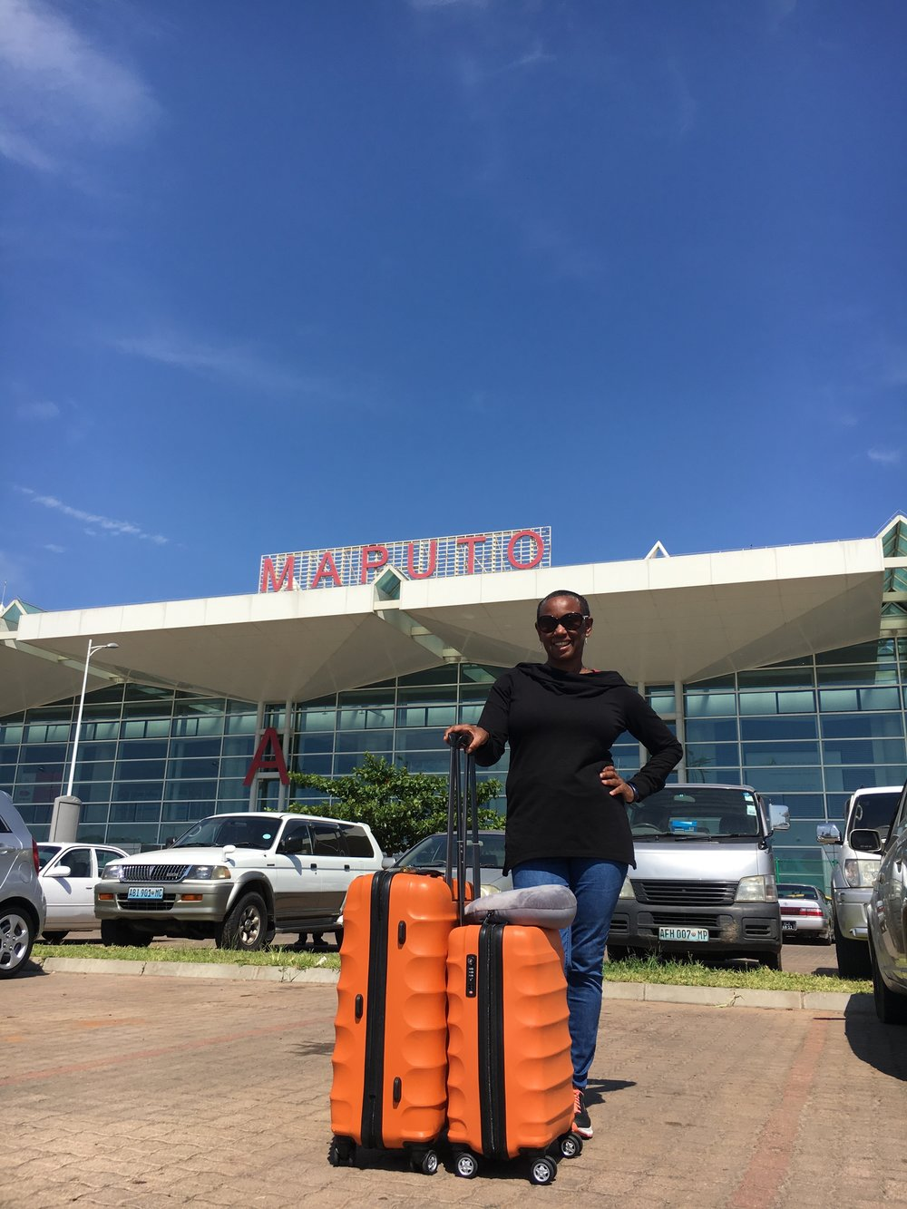 Arriving in Mozambique
