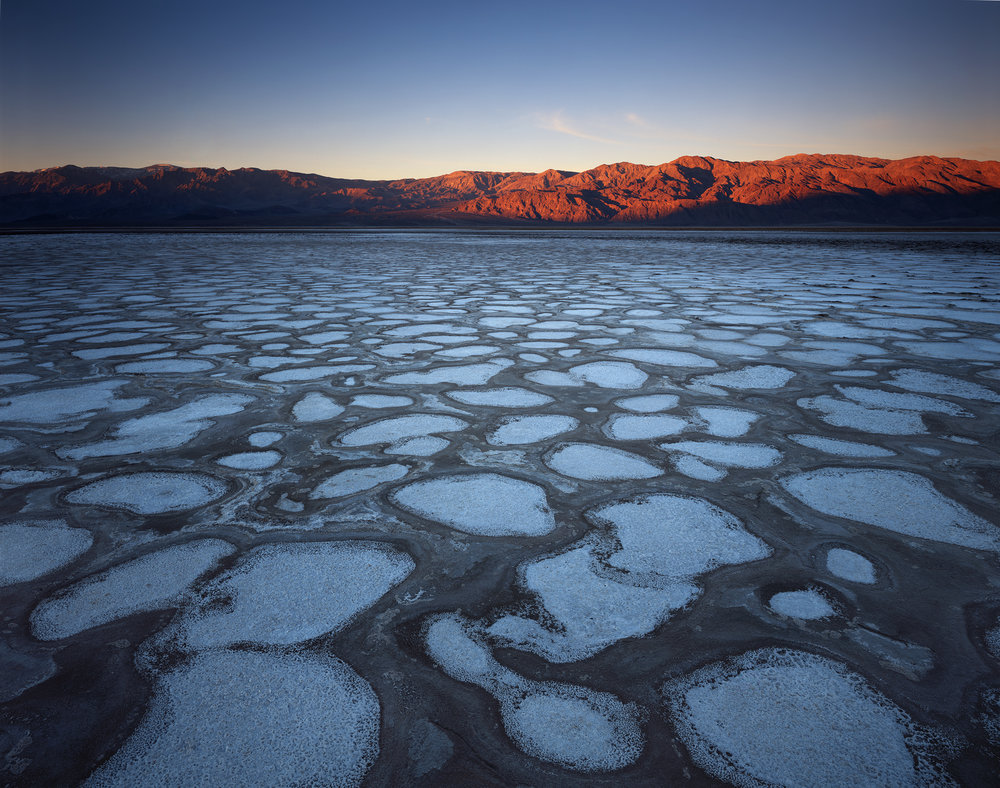 First Light on the Dot District  | Death Valley, California