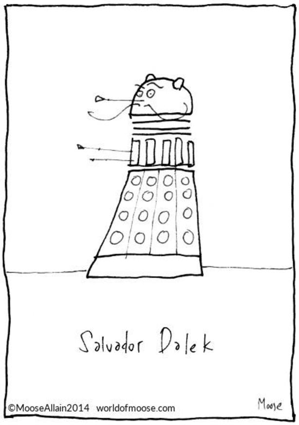 Salvador Dalek