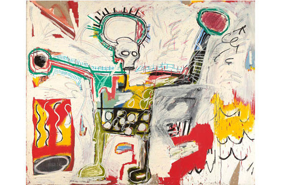 Jean-Michel Basquiat's Untitled (1982). Photograph: Jean-Michel Basquiat/Barbican