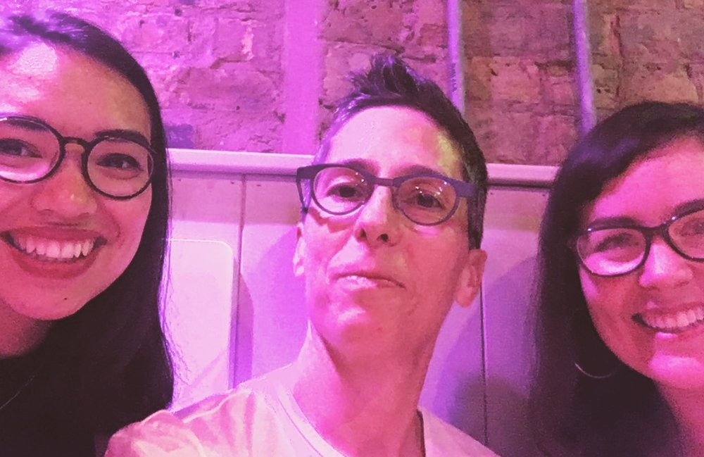 Beth and Pippa meeting actual Alison Bechdel!