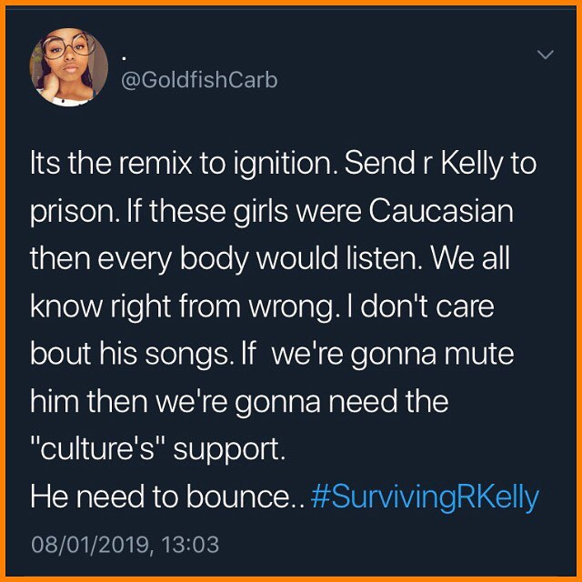 My new favourite song. #survivingrkelly #muterkelly