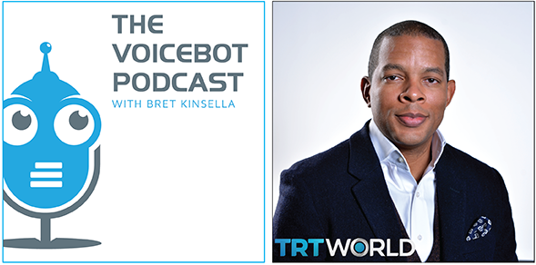Voicebot.ai interview with Derrick Fountain