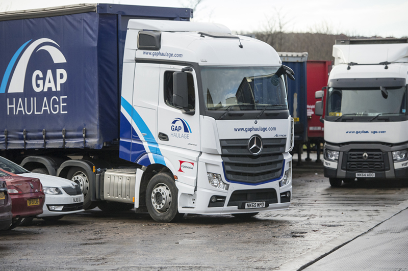 GAP General Haulage Services Truck