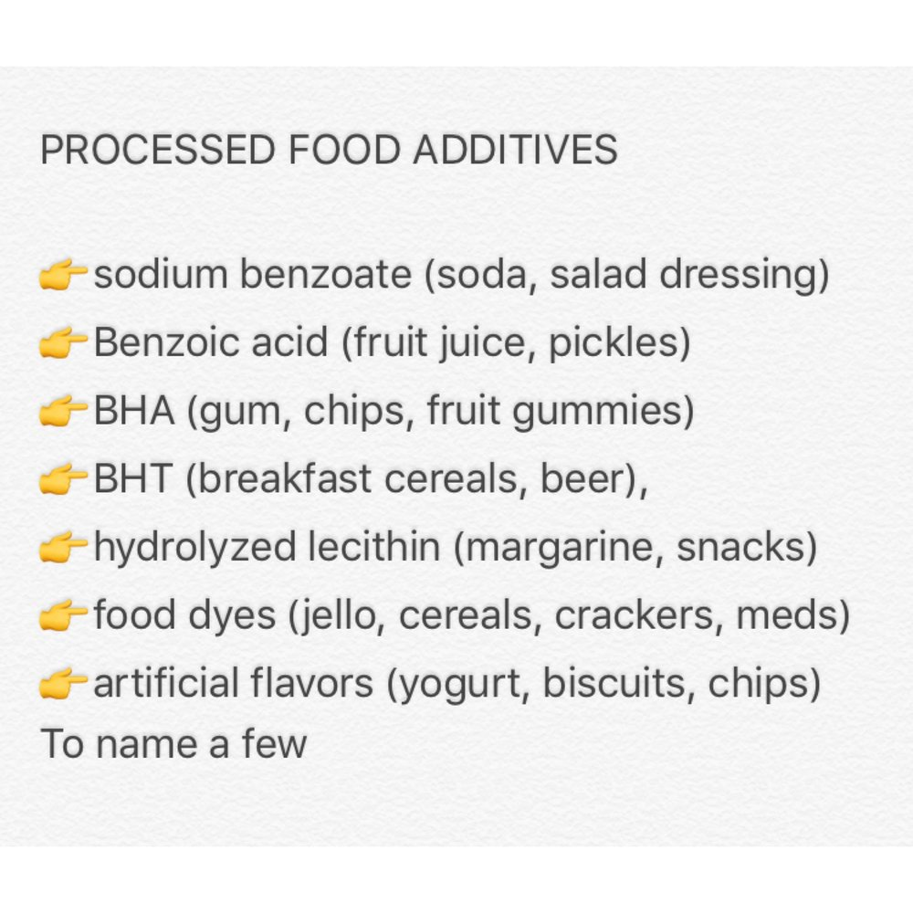 Food preservatives are known to trigger allergies and asthma.