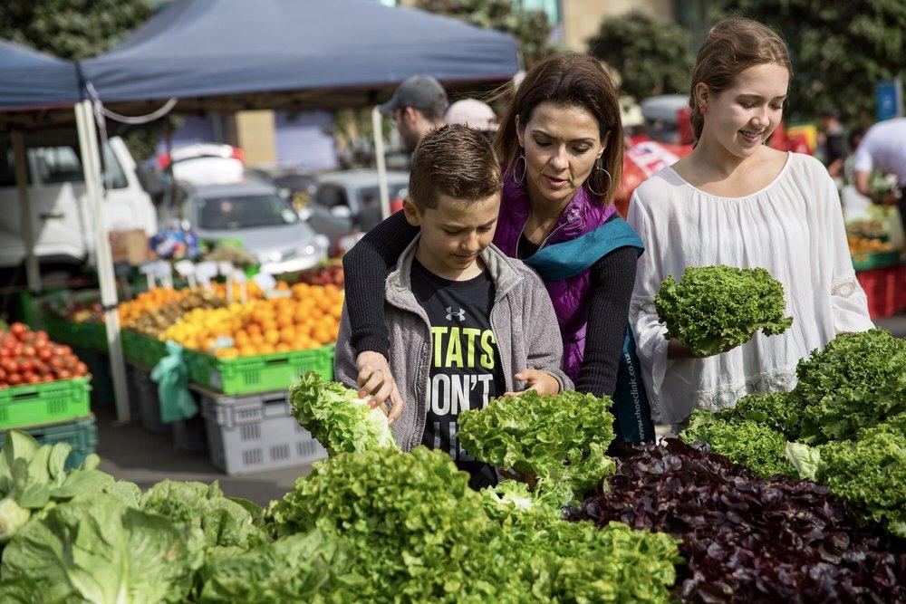 Farmer's Market in Wellington, NZ